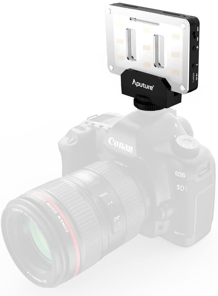 Exemple de lampe led sur appareil photo