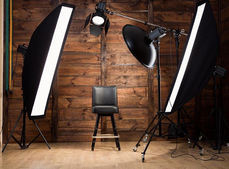 exemple d'eclairage studio